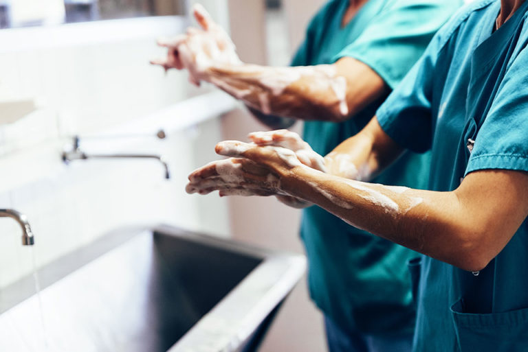 Doctors Always Thoroughly Wash Their Hands