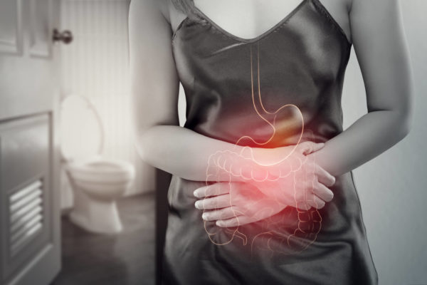 Woman With Chron's Disease Feels Pain in Stomach